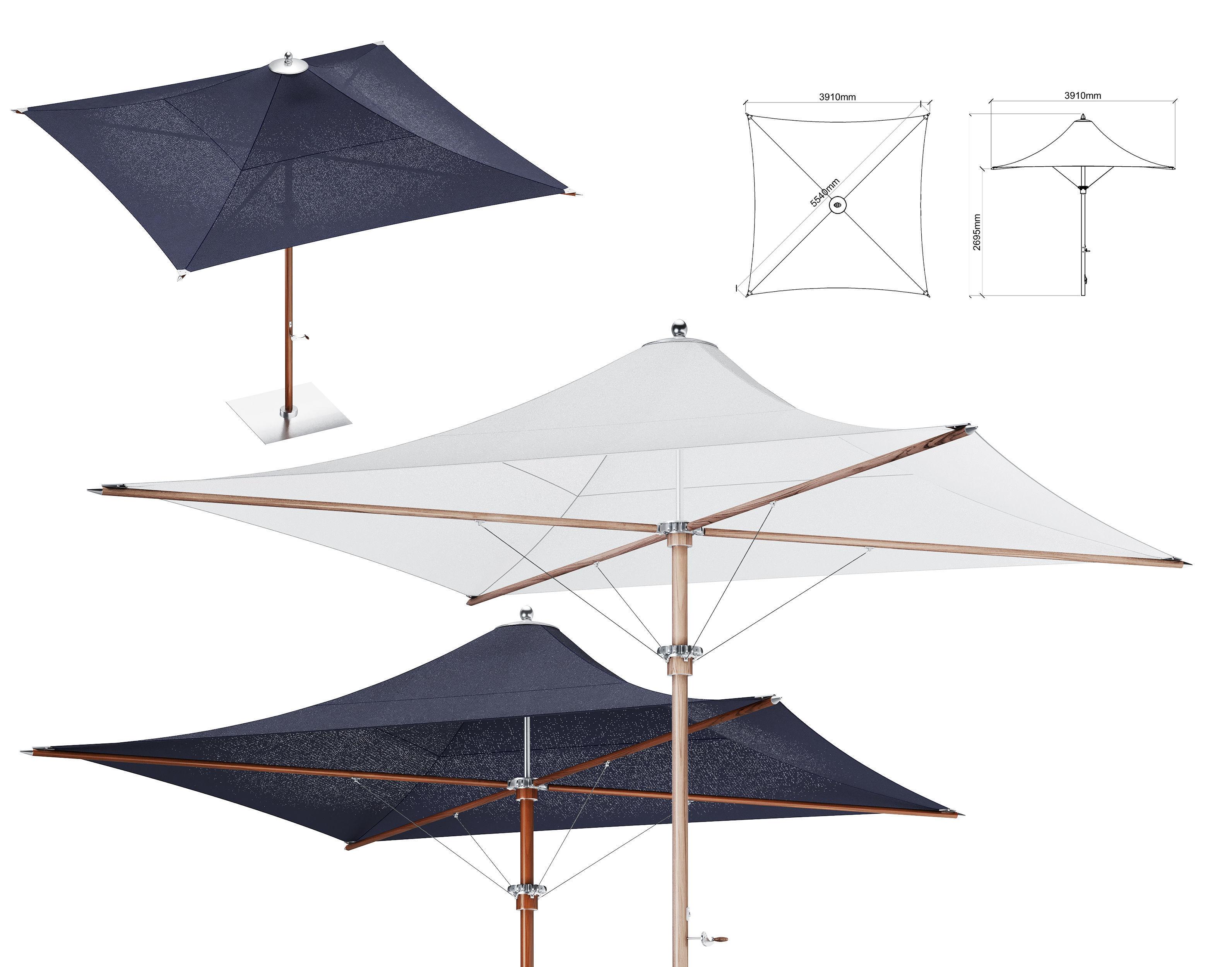 Tensile Parasol Square Shape