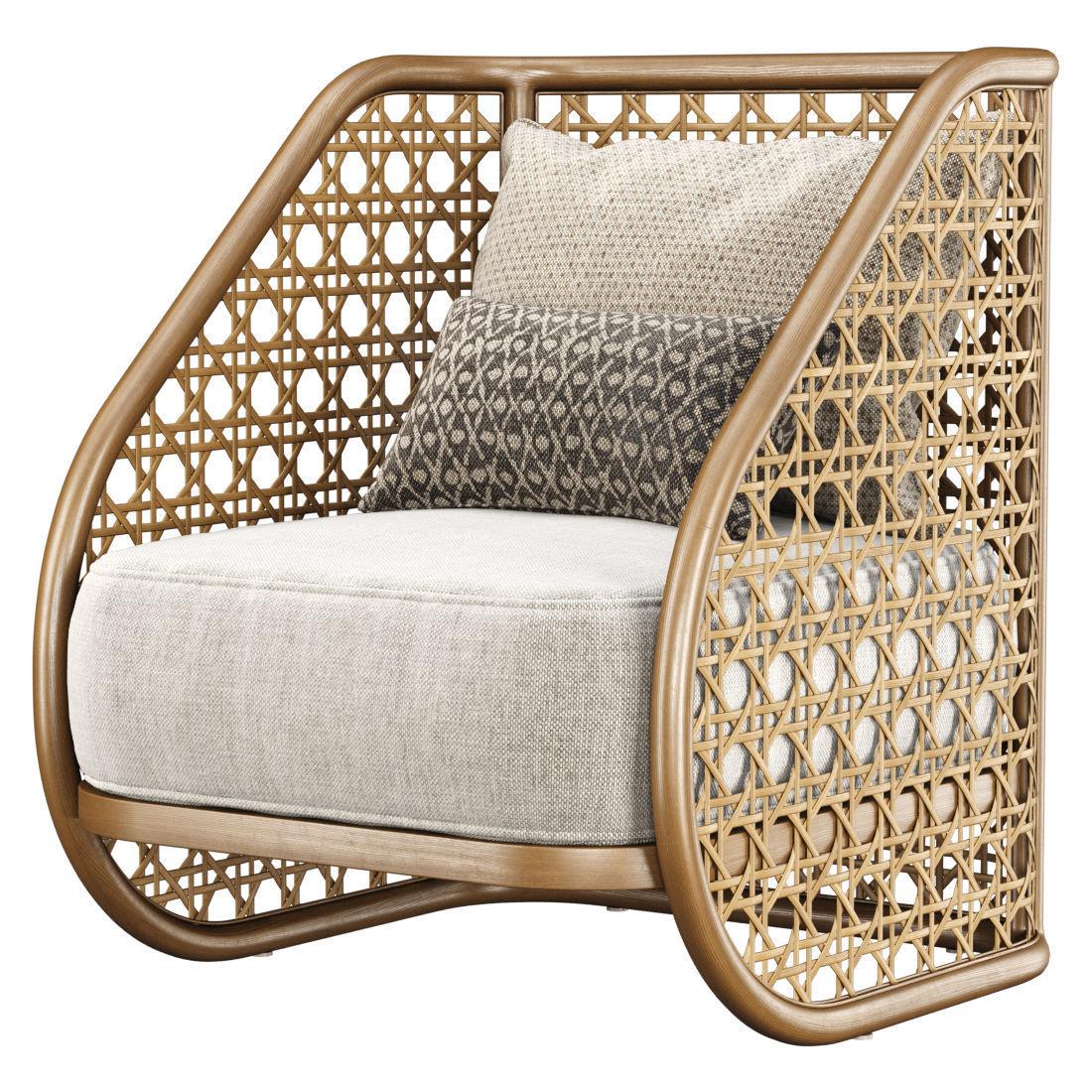 Carry rattan armchair SA10