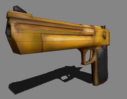 Desert Eagle Gun 3D model