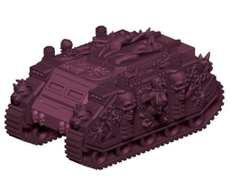 lord of lust custom tank 3d print model