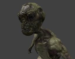 3D model Alien game ready