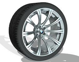 3d printable model bmw wheel