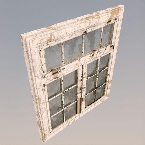 old dirty window 3d model max obj 3ds fbx c4d lwo lw lws 1