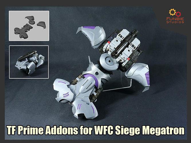 Transformers Prime Addons for WFC Siege Megatron