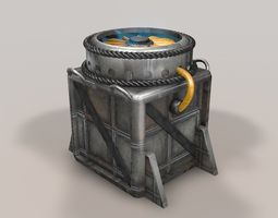 3d asset sci fi objects series - 001 VR / AR ready