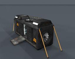 Sci Fi Objects Series - 002 3D model