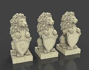 kitchen-challenge 3D print model Lion Sculpture