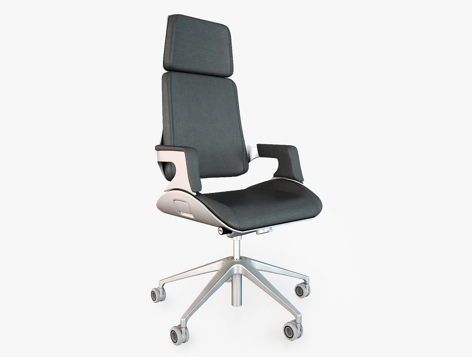 Interstuhl silver 362s office chair 3d model max obj fbx 1  Interstuhl Silver 362S Office Chair 3D model   CGTrader. Silver Office Chair. Home Design Ideas
