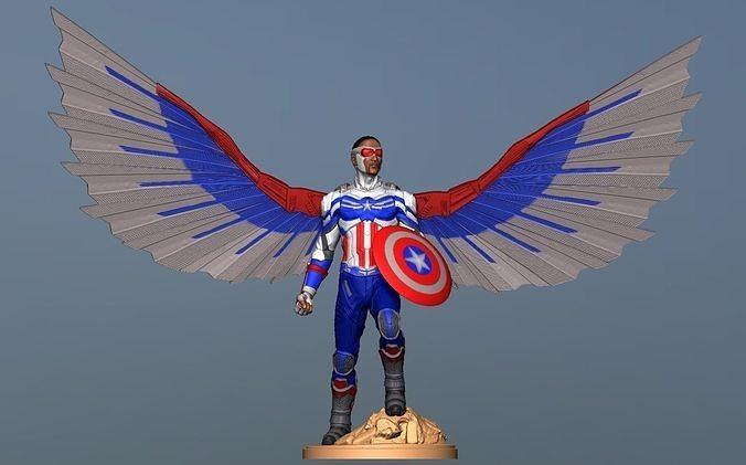 Captain America Sam Wilson - DisneyPlus Version