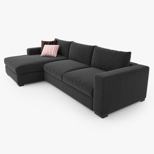 boconcept cenova dk52 sofa 3d cgtrader. Black Bedroom Furniture Sets. Home Design Ideas