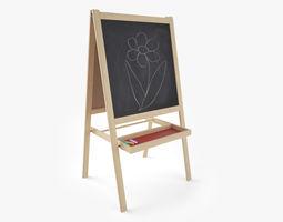 Blackboard for Children 3D model