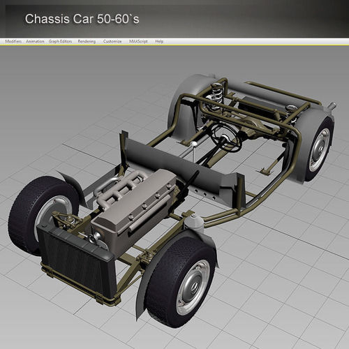 Chassis Car 50-60s