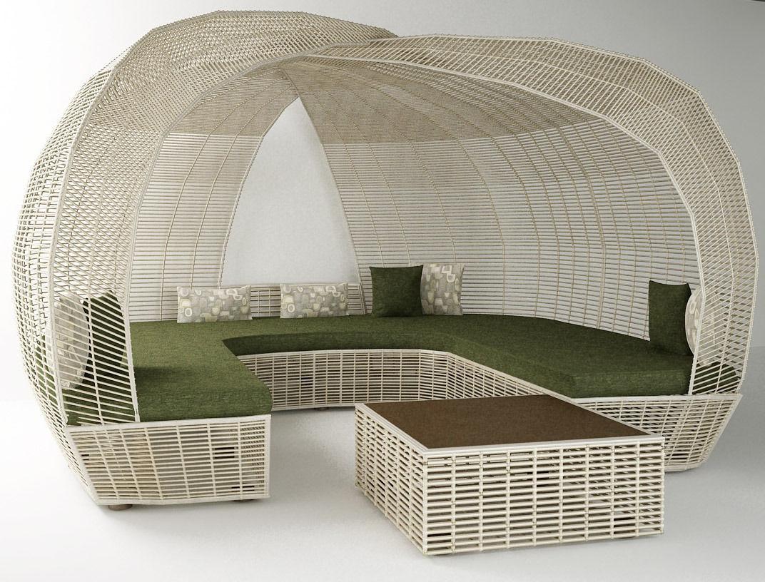 Garden Furniture 3d Model 3d printable model garden furniture | cgtrader
