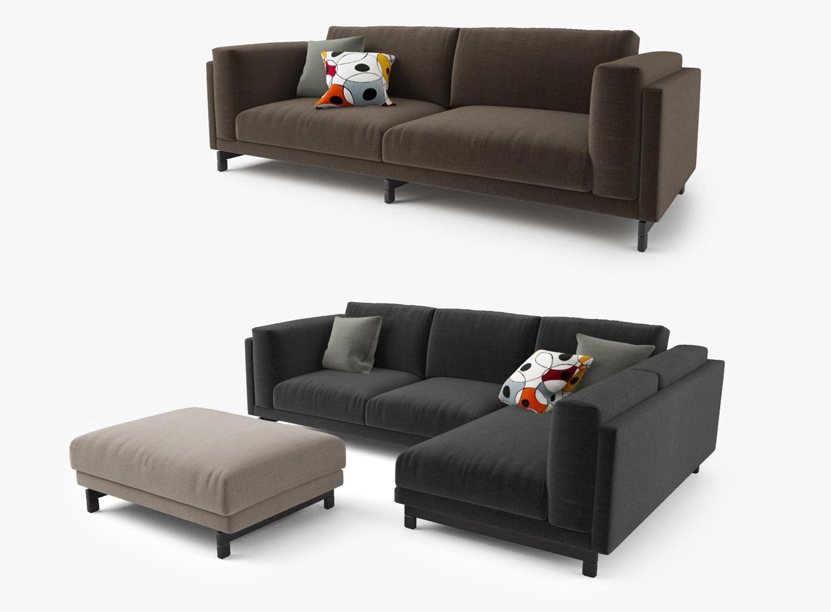 3D Modern Sofa Set