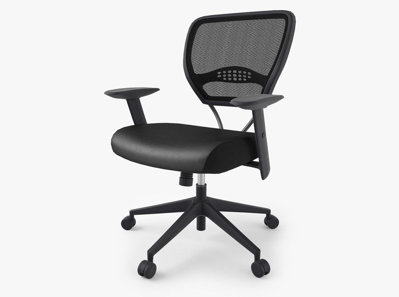 Office Star E Air Grid Chair Model Max Obj Mtl Fbx 1