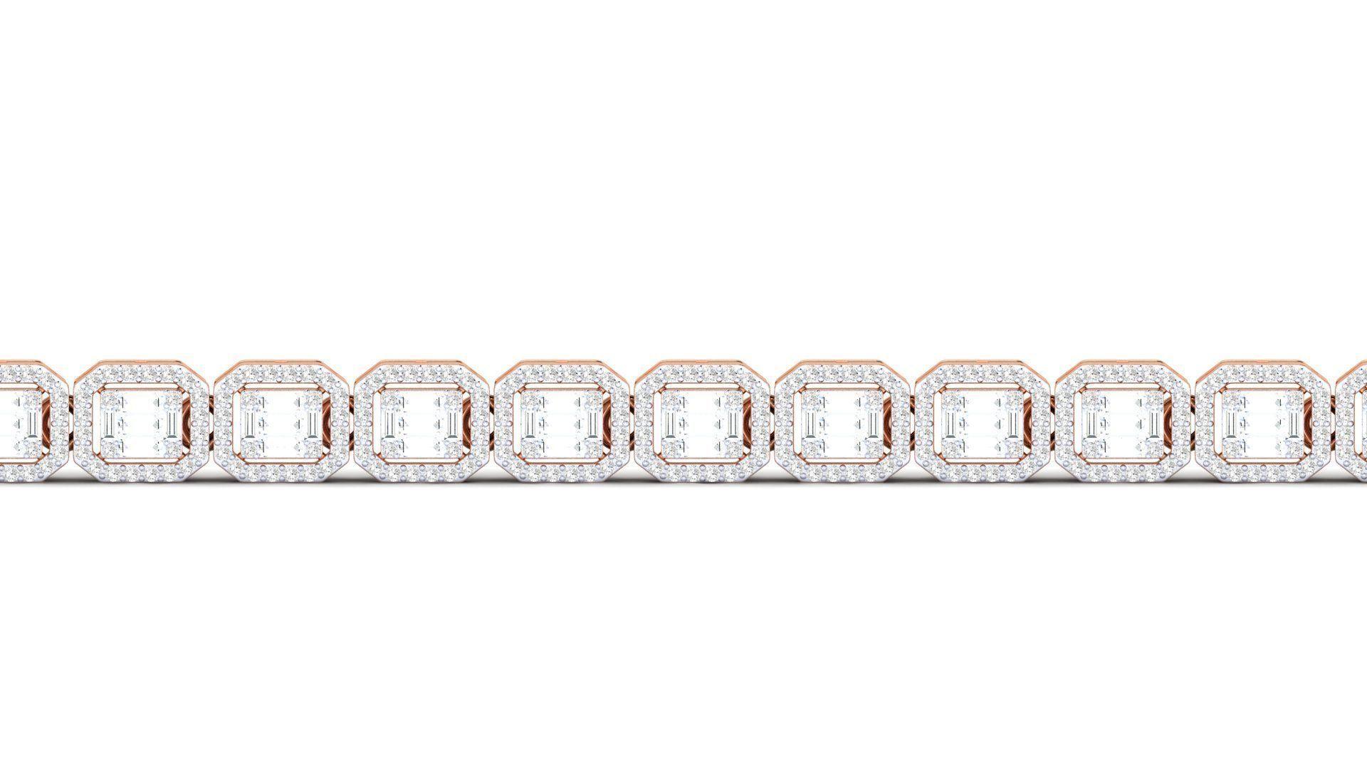 Women bracelet 3dm stl render detail