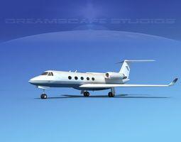 3D model Grumman Gulfstream G-V V16