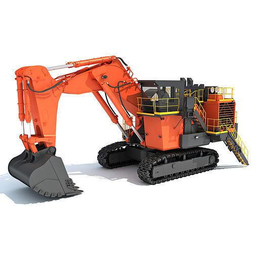 Mining Excavator Shovel