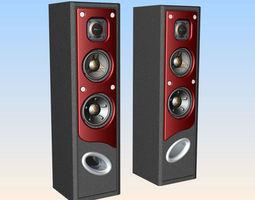 Surround Speaker 3D printable model
