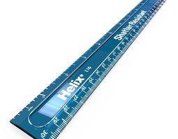 3D model Shatter resistant ruler