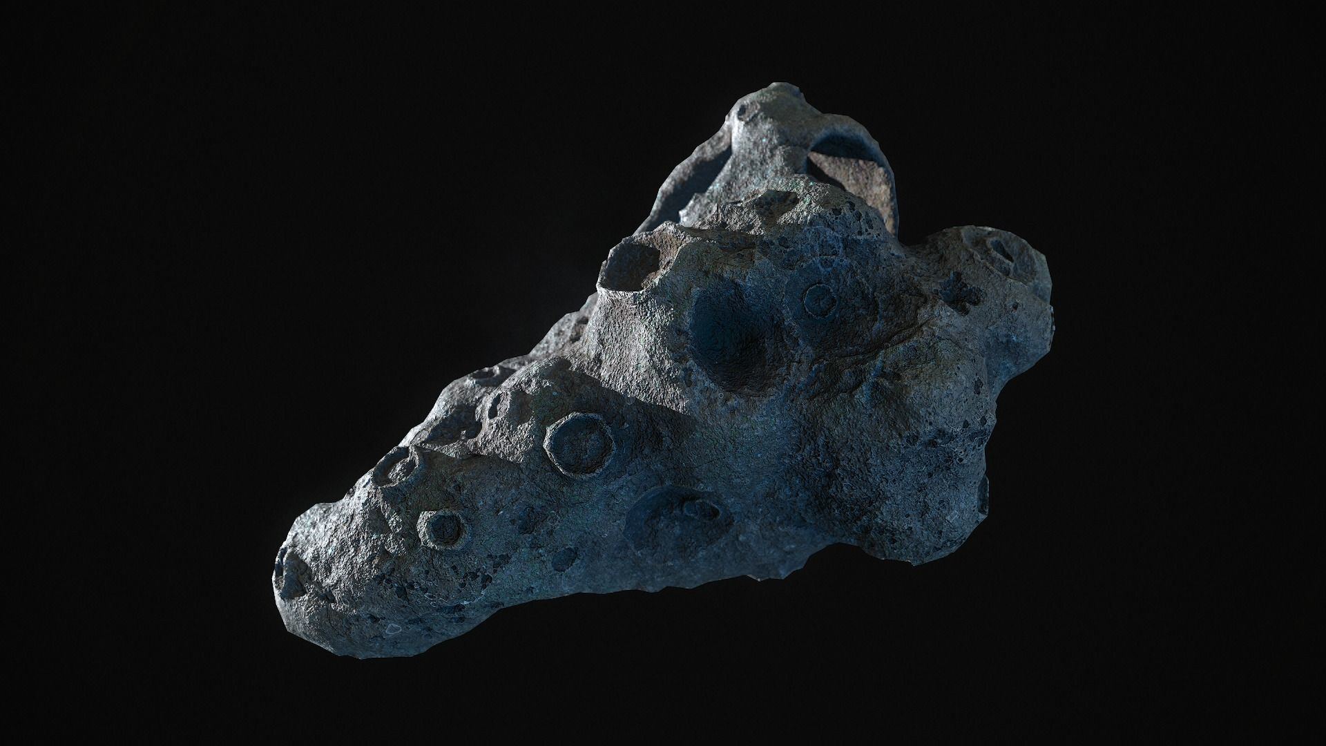 Realistic asteroid 1