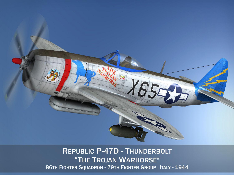 Republic P-47M Thunderbolt - The Trojan Warhorse