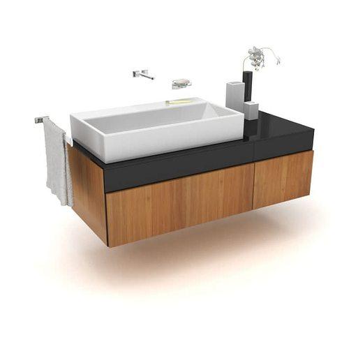 Large Basin Modern Bathroom Sink Model 1