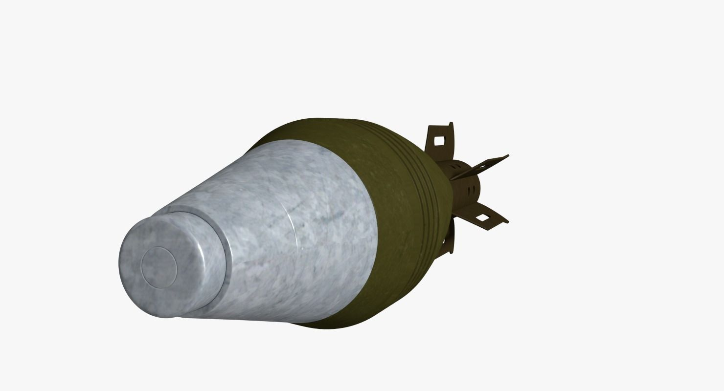 Mortar High Explosive Round : D model m a mm high explosive mortar round vr ar