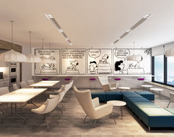 metlife office pantry 3d model max