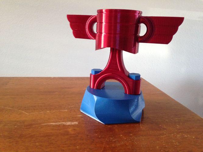 3D printable model Piston Trophy | CGTrader