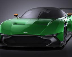Aston Martin Vulcan 2016 VRAY 3D Model