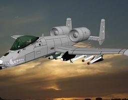 A 10 WAR DOG 3D model