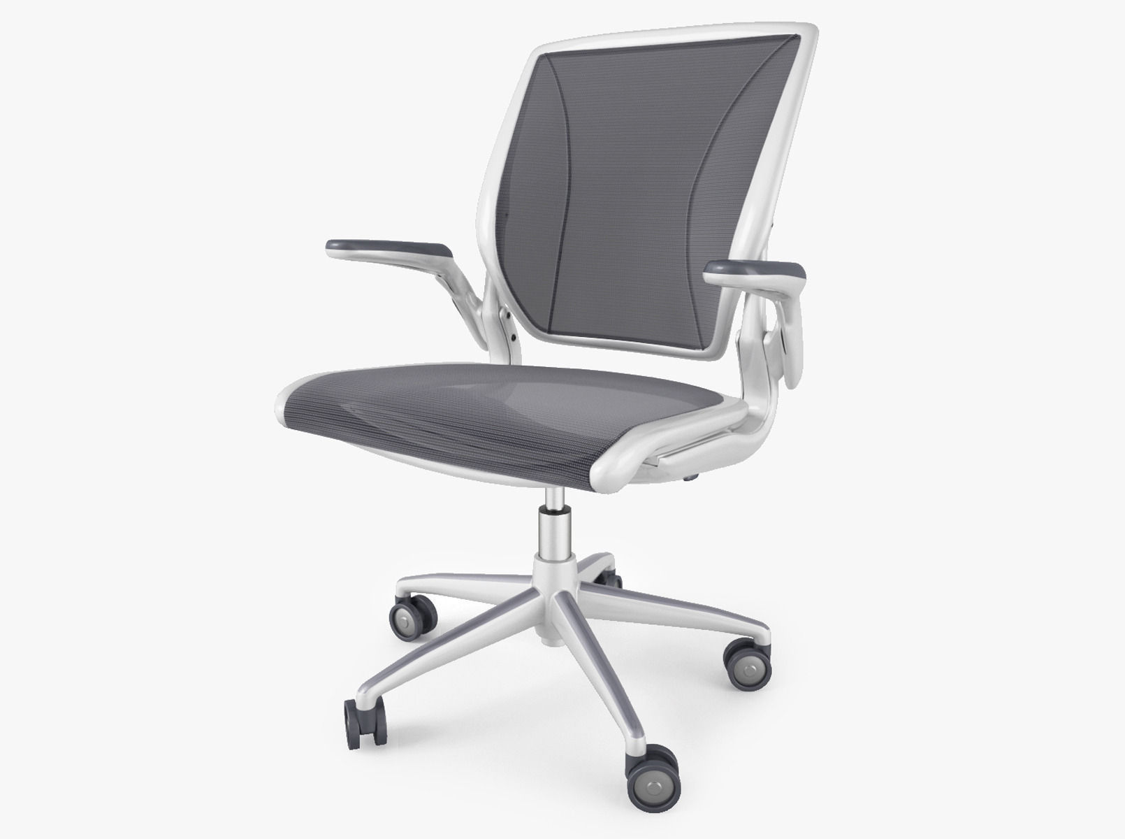 Humanscale Diffrient World fice Chair 3D