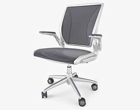 Humanscale Diffrient World Office Chair 3D
