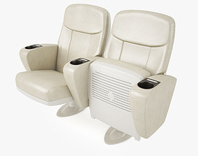 Cinema Seating Smart Economy Chair 3D
