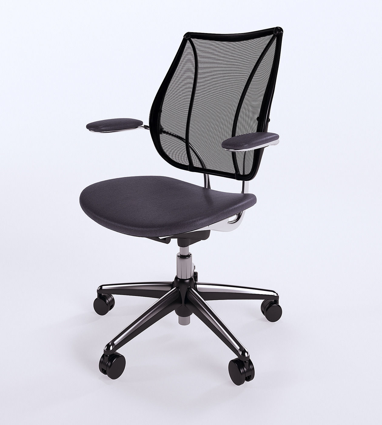 Liberty Task Chair Model Max Obj S Fbx C4d Mtl 1