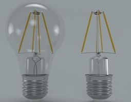 3D LED FLAMENT BULB No1