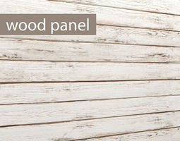 Wood panel 3D 7
