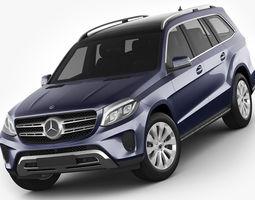 Mercedes GLS 2017 3D
