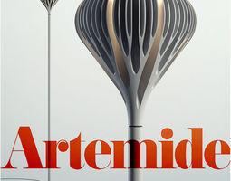 3D model Artemide Florensis Floor grey
