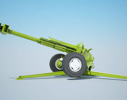 3d model cannon 2a61