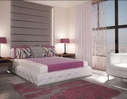 3d printable model bedroom