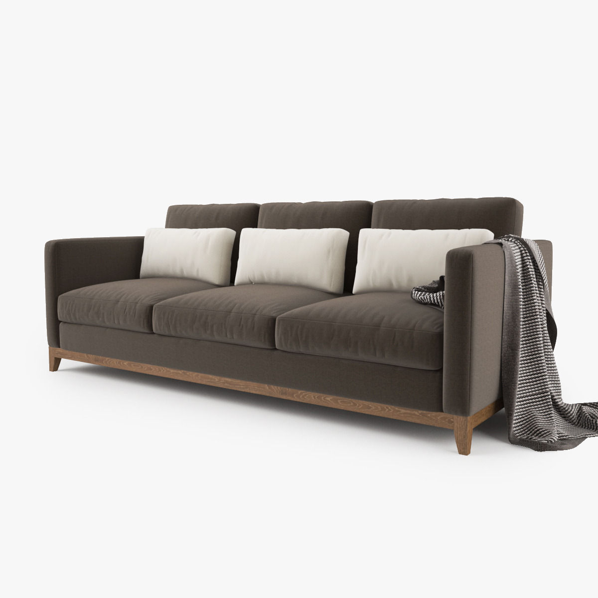 Crate And Barrel Taraval 3 Seat Sofa Model