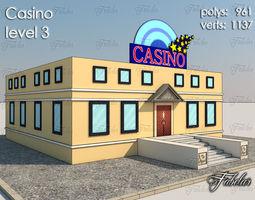 Casino Level 3D model realtime
