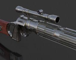 bobafett 3D printable model EE-3 Blaster Rifle
