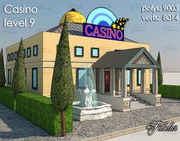 realtime casino level 9 3d asset