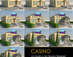 CASINO all 10 Levels 3D model