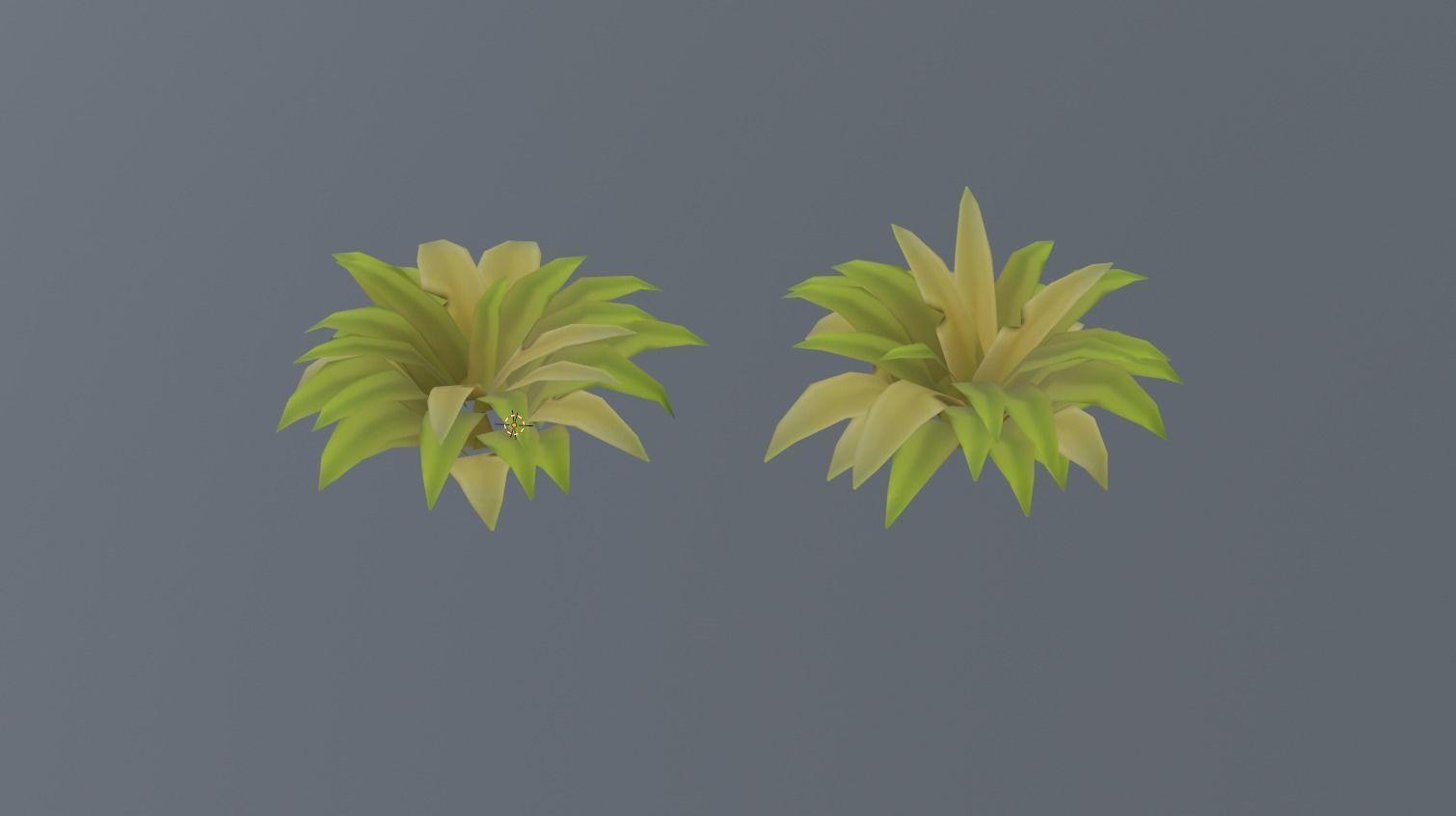 Foliage Low poly