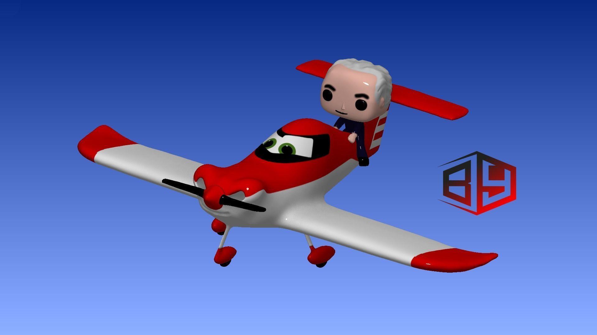 Spacek SD-1 Minisport 3D Funny Model