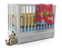 3D model Baby Crib Bed
